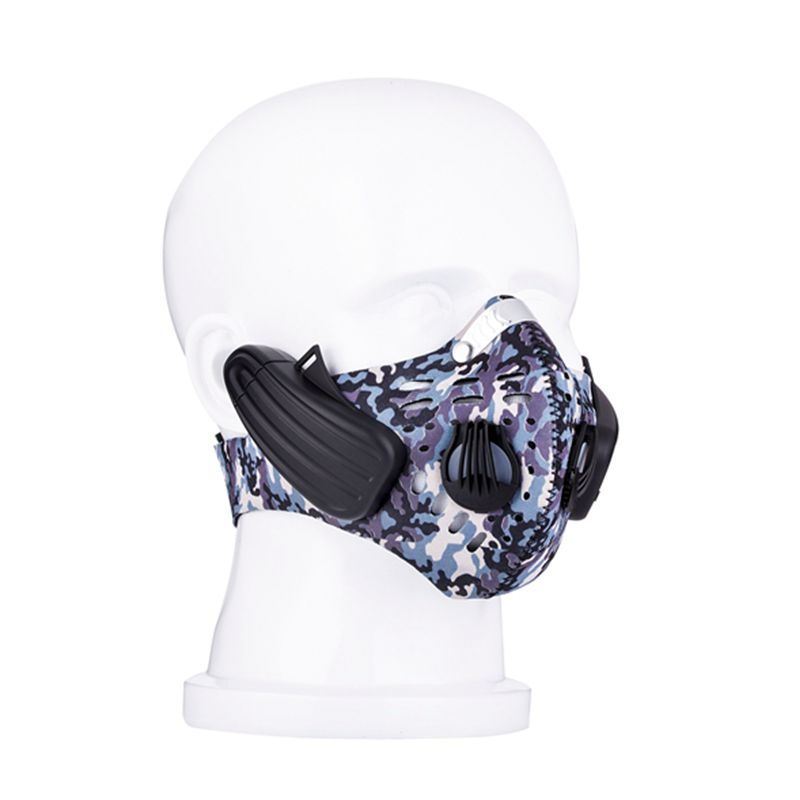 Pengendalian Bone Lead-out City Sports Mask Wireless Headphone - Audio dan video mudah alih - Foto 3