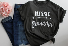 b7e7aefdad Blessed Grandma T-Shirt Mothers Day Gift Women's Fashion Clothes tshirt  Summer funny graphic t shirt tees tops