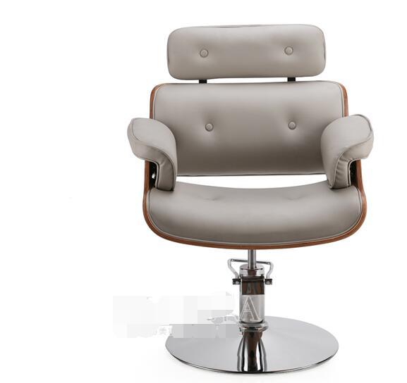 Простой волос Salon Парикмахерская волосы красоты волос стул shake-Up красный парикмахерское кресло цвета розового золота chassis.1