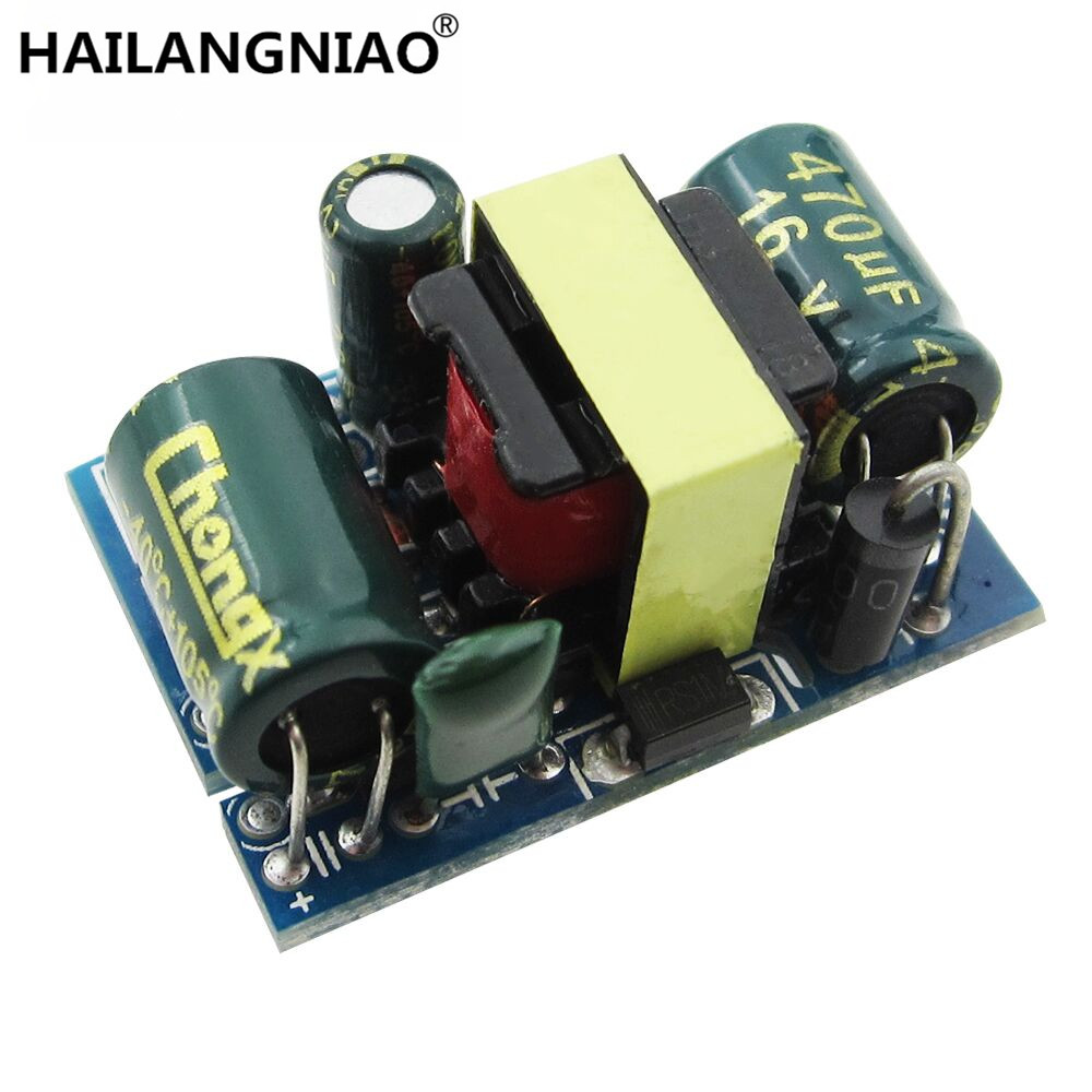 5V 700mA (3.5W) isolated switch power supply module AC-DC buck step-down module 220V turn 5V 6es7284 3bd23 0xb0 em 284 3bd23 0xb0 cpu284 3r ac dc rly compatible simatic s7 200 plc module fast shipping