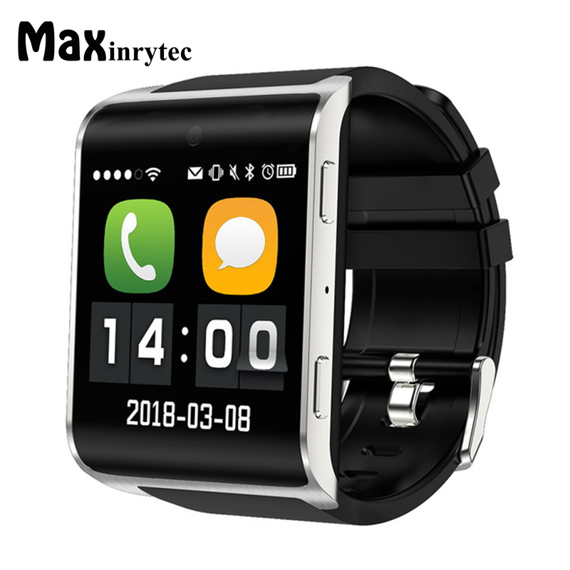 Maxinrytec 4G smart watch DM18 Android 6.0 MTK6737 Quad Core 1GB/16GB GPS WiFi SmartWatch Phone Heart Rate Sim Card PK DM368 H5 maxinrytec 4g smart watch dm18 android 6 0 mtk6737 quad core 1gb 16gb gps wifi smartwatch phone heart rate sim card pk dm368 h5