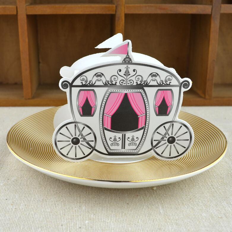 50 шт./лот романтические розовые принцессы перевозки коробка конфет Континентальный пользу коробки свадебный подарок конфеты пользу bo День ... ...