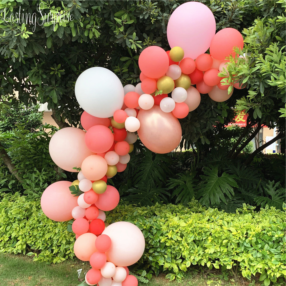 Balloon Arch Garland Kit Ballon Photo Booth Backdrop Wedding Baby Shower Graduation Anniversary Organic Party Decoration in Ballons Accessories from Home Garden