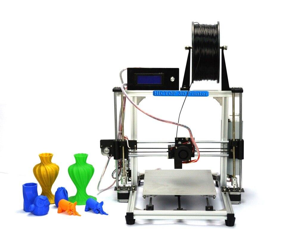 HIC High Precision Full Alluminum Structure DIY 3d printer Reprap Prusa i3 3D Printer