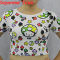 Harajuku lolita girls tops camisa atractiva 2016 del verano animal print kawaii clothing camisetas camisas de manga corta casaul tops tee blusa