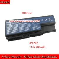 High Quality 11.1V 5200mAh AS07B31 Laptop Battery for Acer Aspire 5920 5920G 6930g 5520 AS07B41 AS07B51 AS07B61