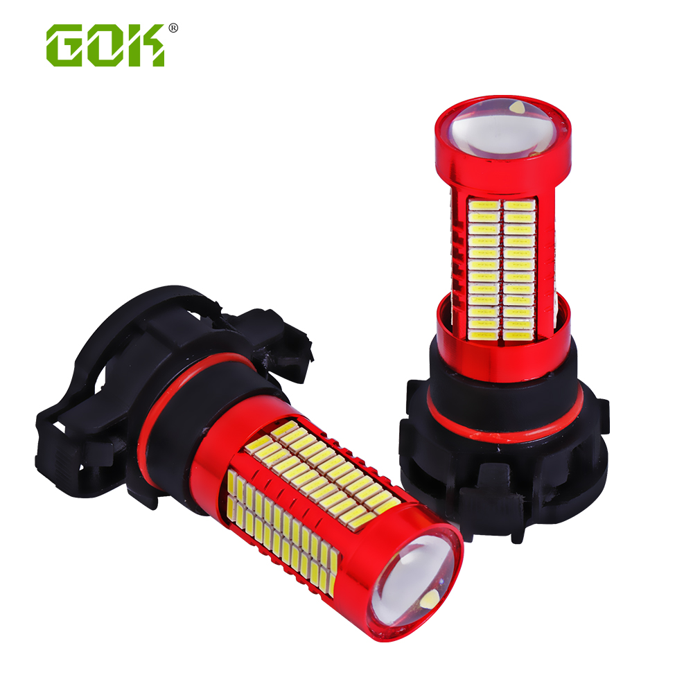 2pcs H11 H7 H4 H16 led 106SMD 4014 LED fog Lamp led Fog light LED Car - Car Lights - Photo 1