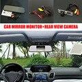 5 ''TFT LCD Auto Car Rear View Mirror Monitor + Carro SW4 Câmera de Visão traseira Reversa Para Toyota 4 Runner/Hilux Surf 2002 ~ 2012