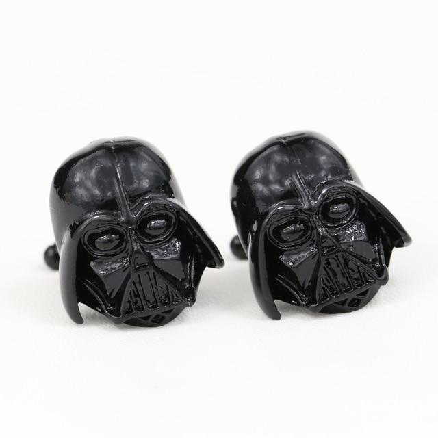 Star Wars Darth Vader 2 Colors Metal Cufflinks