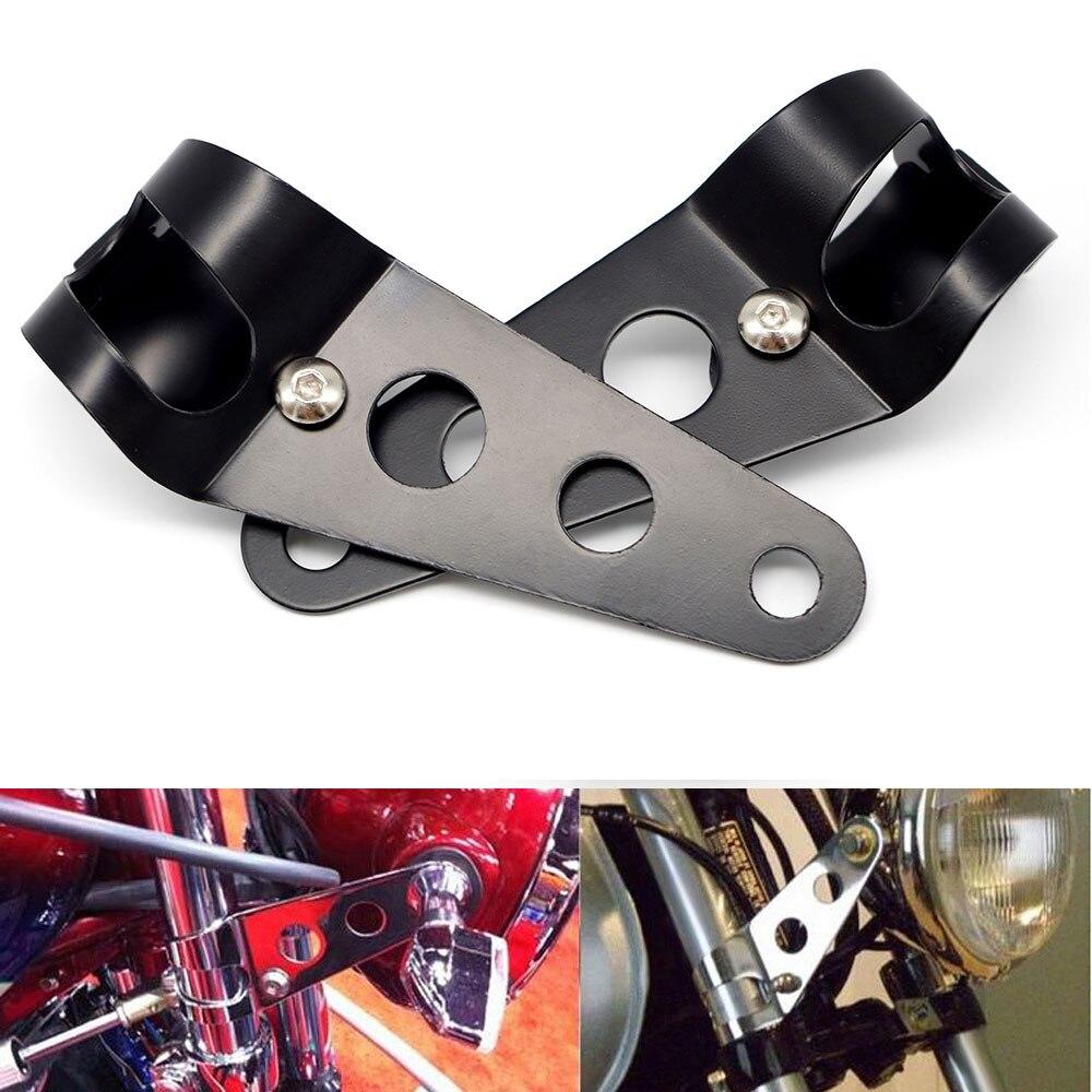 #12 Motorcycle Headlight Bracket For Suzuki Sv650 Bandit 1200 400 Gs500 Intruderv Strom 650 Dl Gsr Bandit650 Gsxr 1000
