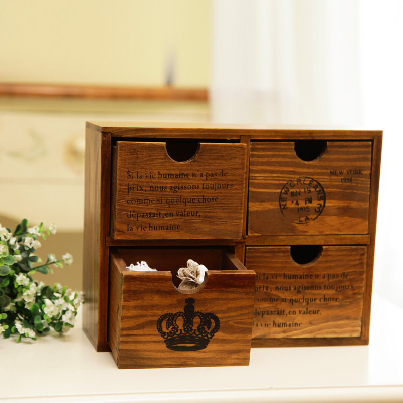 Old fashioned storage boxes 52
