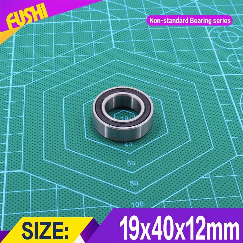 194012 Non-standard Ball Bearings  Iner Diameter 19 mm  Outer Diameter 40 mm  Thickness 12 mm Bearing 19*40*12 mm headl iner джинсовые брюки