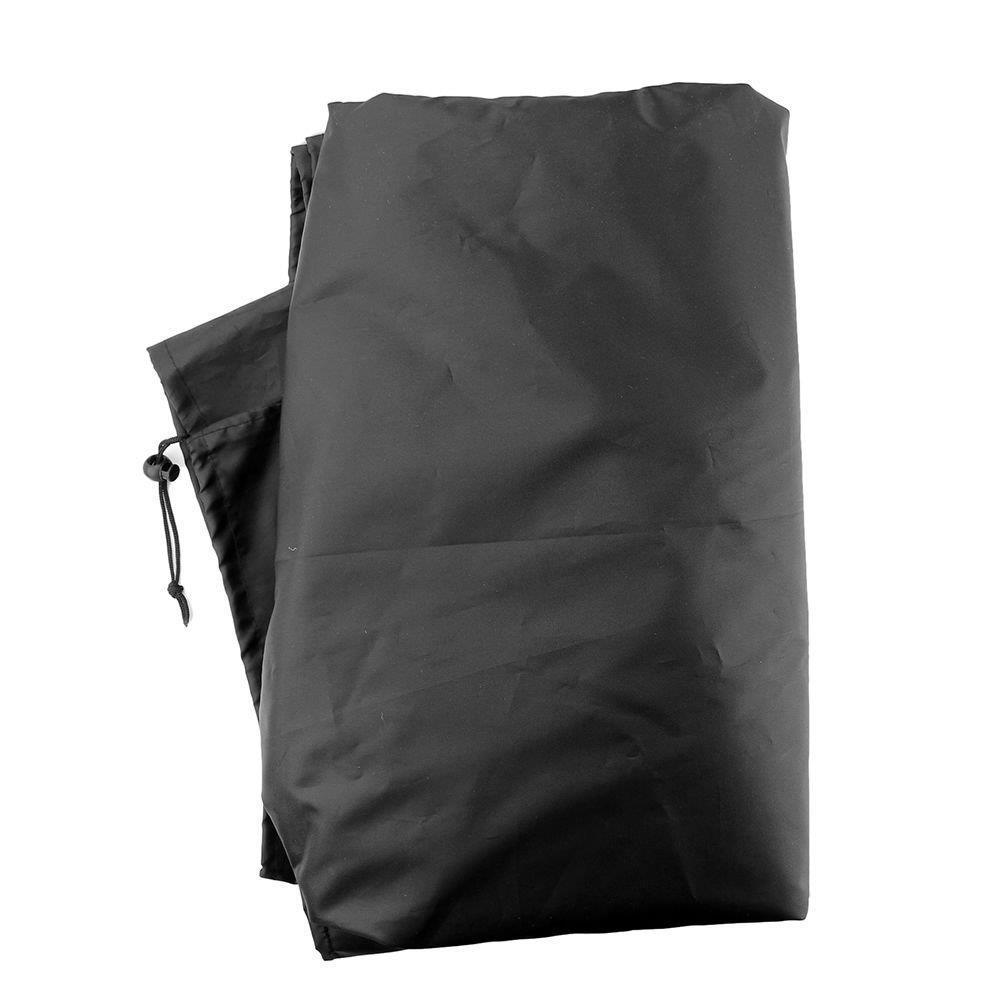 Black 210D Oxford Cloth Garden Patio Table Chair Cover Waterproof Outdoor Furniture Dustproof Protective Cover Garden Supplies 4