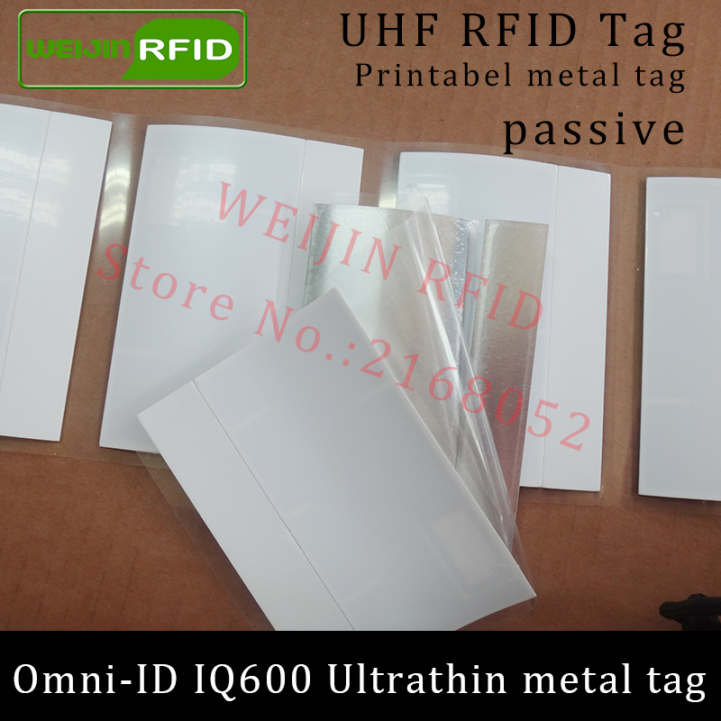 UHF RFID anti-metal tag omni-ID IQ600 IQ 600 915mhz 868mhz Impinj Monza4QT EPCC1G2 6C printable passive RFID Synthetic Label lone wolf and cub omni vol 6