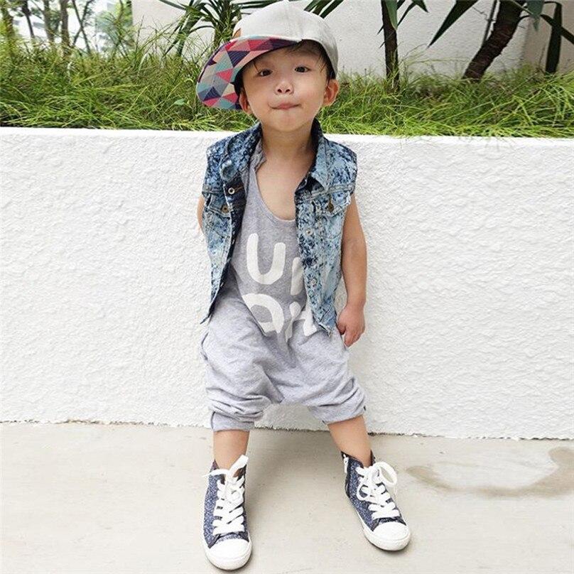 1-8y Zomer Peuter Kids Baby Meisje Mouwloze Backless Brief Print Strap Overalls Een Stukken Jumpsuit Casual Kleding 4jj