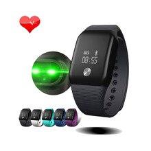A88 + смарт-браслет 0.66 OLED Экран IP67 Водонепроницаемый Smart Band Поддержка сердечного ритма Мониторы сна Мониторы для iOS и Android PK A06