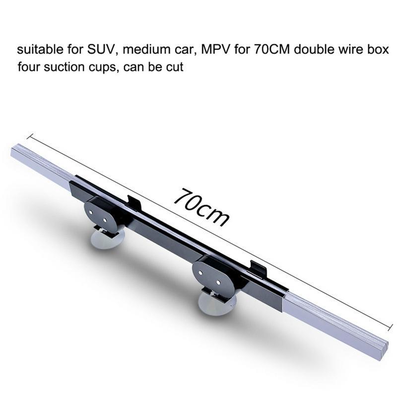 Folding Car SUV Windscreen Sun Screen Shade Visor Heat Block Cuttable 46cm Wide