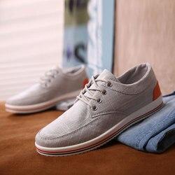 Парусиновая обувь, модные летние мужские повседневные туфли, удобные дышащие кроссовки на плоской подошве, Zapatos Hombre QASDUO balenciagas, 2019