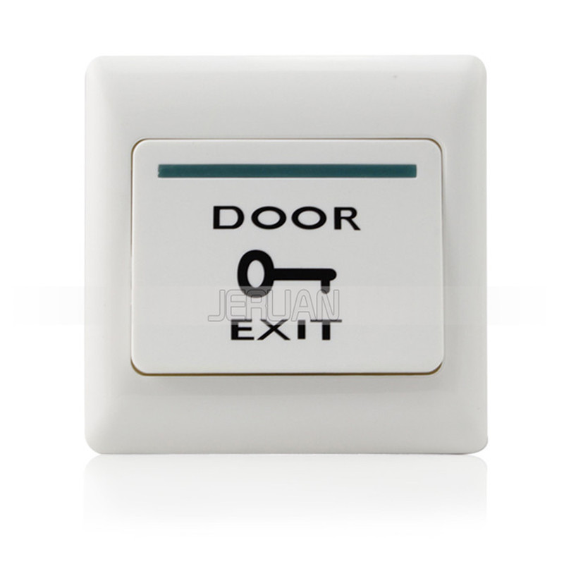 (10 pieces) door exit button automatically restroration push release for access system nomal open signal передвижная баскетбольная система exit 80051