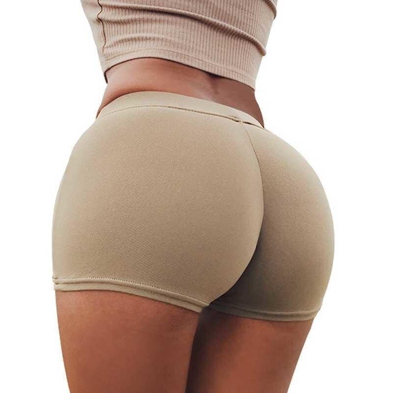 Women Cotton Underwear Panties Push Up Plus Size Lingerie Women's Panties Safety Short Pants Seamless Briefs Sexy Solid Boyshort