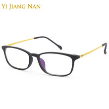 Yi Jiang Nan Brand Small Glasses Women Light Optical Fashion Men Ultem Titanium Eyeglasses Frame