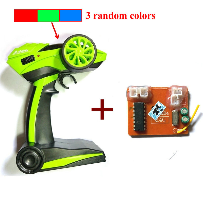 2.4g Transmitter and Receiver For HB P1801 RC Car 2.4G Rock Crawler Car 4WD Monster Truck Parts (random in green or blue or red)