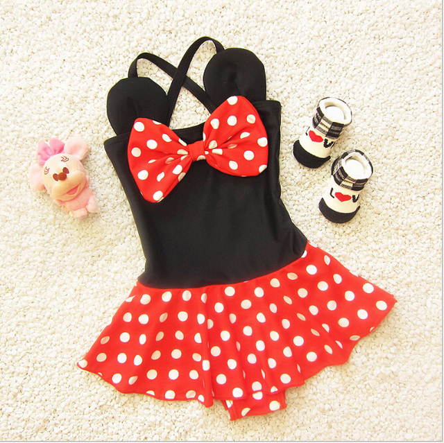 lovely girl printing dot one pieces swimsuits bow cross hammock children bathing suits set thongs lovely girl printing dot one pieces swimsuits bow cross hammock      rh   aliexpress