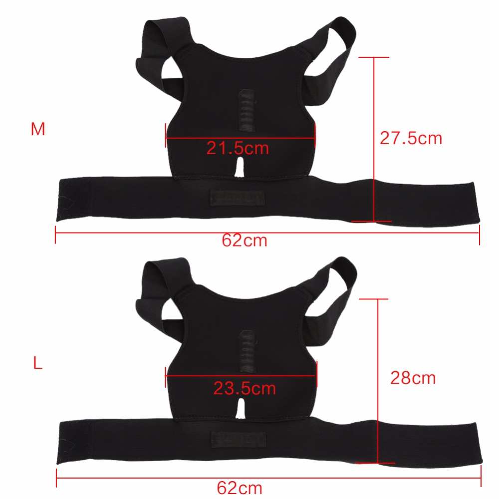 High Quality Adjustable Posture Corrector Belt to Support Back and Spine for Men and Women Suitable to Pull the Back for Body Shaping 2