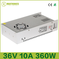 2016 Best Price 36V 360W 10A Universal Regulated Switching Power Supply For CCTV Led Radio Free
