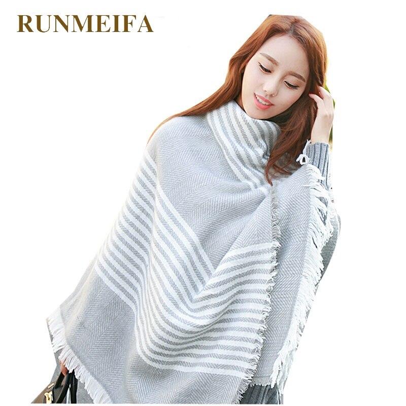 1 X Newest Lady Women Blanket Oversized Tartan Scarf Wrap Shawl Plaid Cozy Checked Pashmina