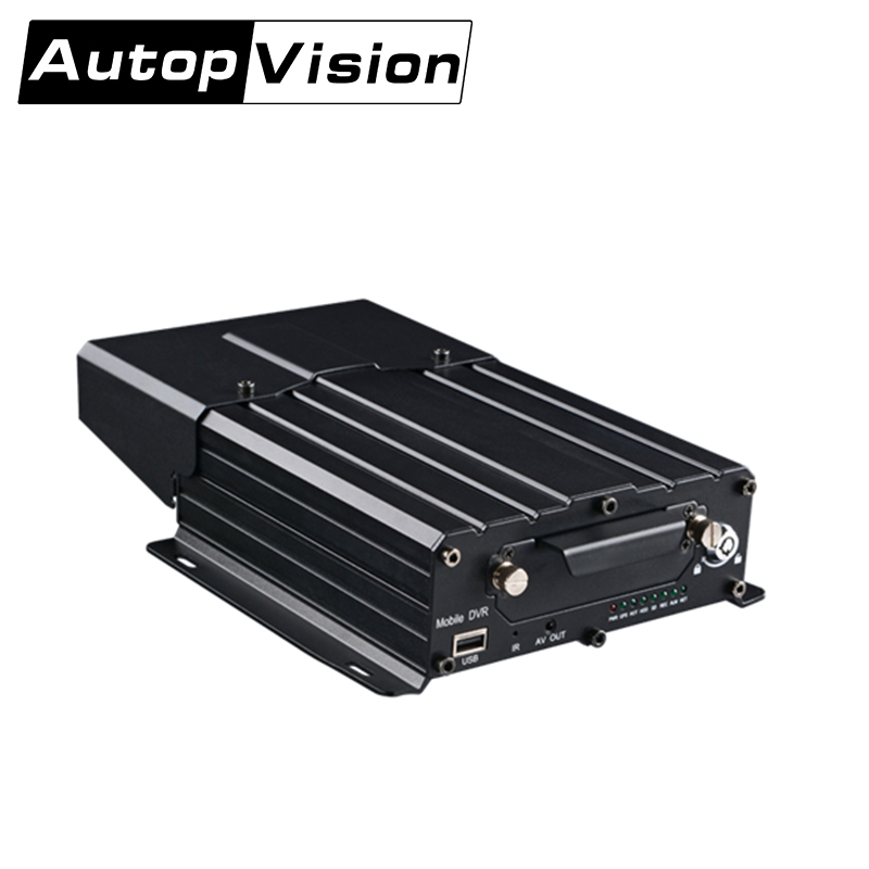 MDVR7104 Free Shipping truck HDD MDVR bus car vehicle monitor mobile dvr support AHD 4ch 1080P 720P signal camera extend 3G GPS free shipping g sensor h 264 hdd 4ch 720p ahd car dvr video recorder metal rear side front view car camera system car monitor