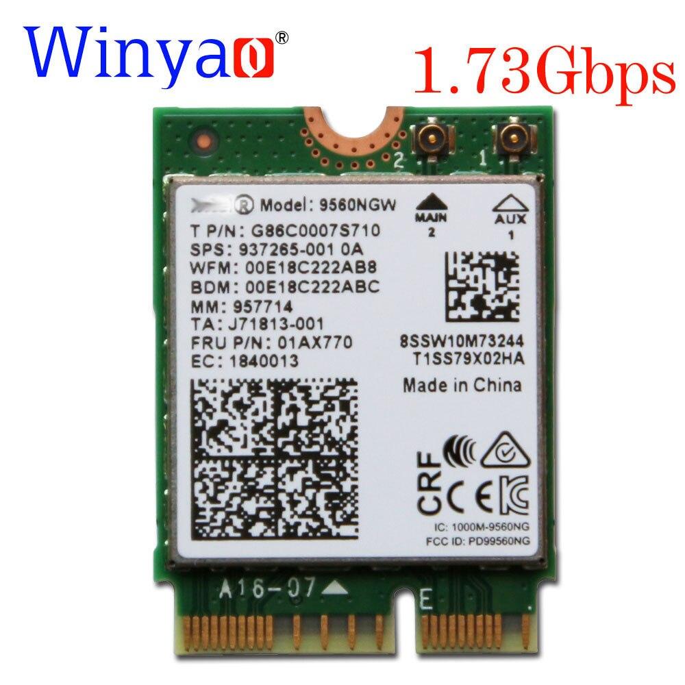 Winyao Dual Band Wireless Ac 9560ngw 802 11ac Ngff Key E 2