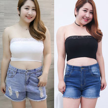 fa61c00eabe Sexy Women Solid Tube Top Underwear Strapless Bandeau Crop Bra Intimates  Casual Clothes Plus Size FS99