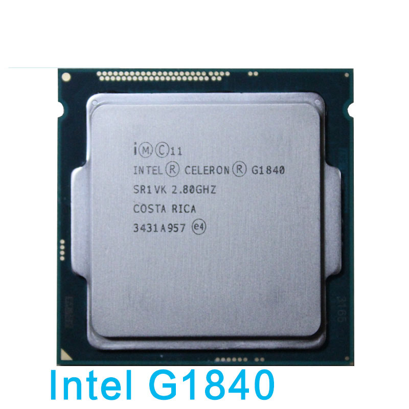 Galleria fotografica D'origine G1840 Processeur dual-core 1150 2.8G 1820/1830 CPU 65 w garantie 1 année