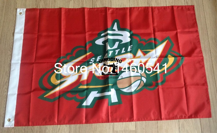 Seattle Storm Flag 3ft X 5ft Polyester Wnba Seattle Storm Banner Flying Size 4 No 4 144 96cm Qingqing Flag Flags Banners Accessories Aliexpress