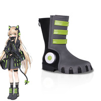 Game Girls Frontline TMP Cosplay Shoes Halloween Carnival Boots Custom Made