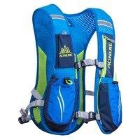 Outdoor Unisex Lightweight Running Backpack Sports Trail Racing Marathon Hiking Fitness Bag Hydration Vest Pack J2