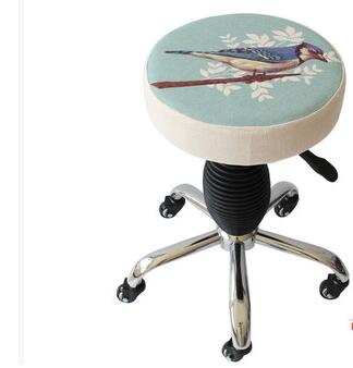 Can be dismounted wheel bench. Rotating lift chair large stool armor stool цены