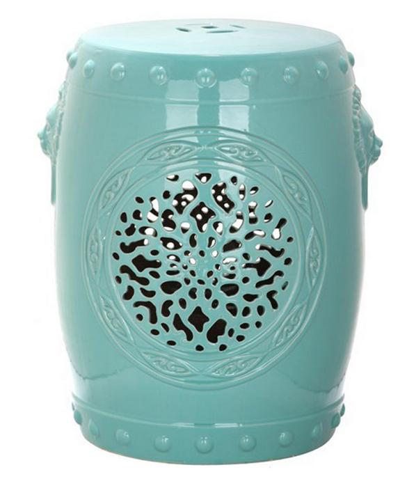 Jingdezhen Indoor Ceramic Antique Home Drum Porcelain Garden Stool Glazed  Hand Painted Round High Quality Ceramic Stool