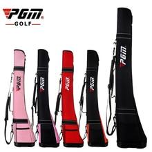 PGM Golf Gun Bag Ultra Light Nylon Can Hold 4 Guns Firm Base Comfortable Belt Brand Original Golf Gun Bag Free Shipping