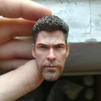 1/6 Scale The Avengers Thor Head Carved 6.0 Model for 12 inches Action Figure Body Accessory