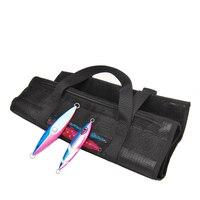 soft lure Jigging Jig bag Sea Fishing waterproof Canvas bags Lure tool accessories 46x37cm