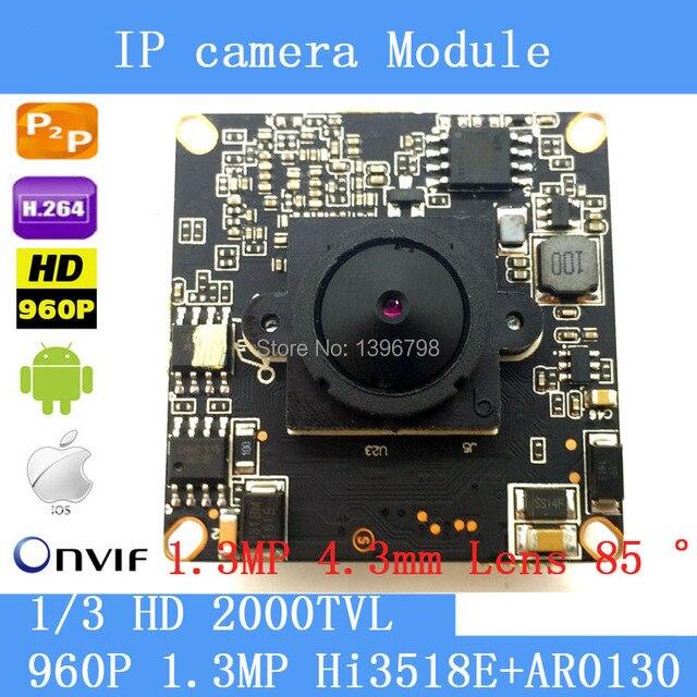 Aliexpress.com : Buy 1.3 Megapixel IP Camera Module Board 1280 ...