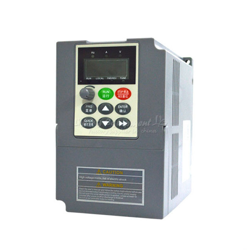 Convertisseurs de fréquence vectoriels haute performance 0.4KW-5.5KW 220V à usage général modulaires