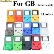 1set 15colors available Game Replacement Case Plastic Shell Cover for  GB for Gameboy Classic Console Case full housing стоимость