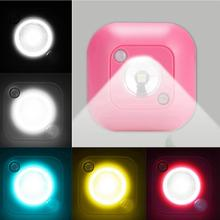 0.2W Light Control LED Human Body Sensor Night Lamp for Home Room Cabinet Indoor  lamp night