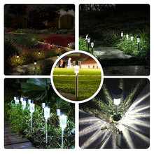 510Pcs/Lot Solar Light Garden Decoration LED Solar Garden Yard Path Lamps Meadow luminaria  Outdoor Solar Stainless Steel light