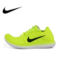 Original Authentic NIKE FREE RN FLYKNIT R Women's Breathable Running Shoes Sneakers Outdoor Walking Jogging Comfortable Durable