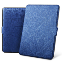 Zimoon Case For Amazon Kindle 8 Th Gen 2016 Model 6 Inch Silk Pattern PU Leather