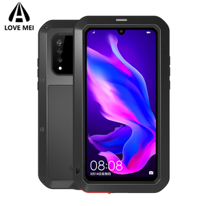 Image 5 - Love Mei Metal Case For Huawei P30 Pro Shockproof Phone Cover For Huawei P30 Lite Rugged Armor Anti Fall Case For Huawei P30 Pro